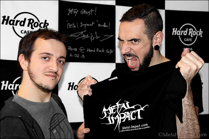 Interview : BEYOND THE STYX (FRA) - Emile Duputie et Adrien Joul (Fév-2015 / ITW-VIDEO)