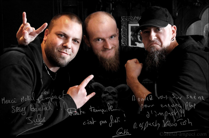Interview : TANKRUST (FRA) - Kootoh, Jules et Garth (Dec-2015 / ITW-VIDEO)
